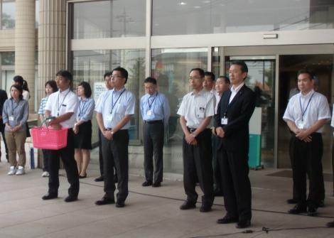 2015.6.12  内灘町役場職員