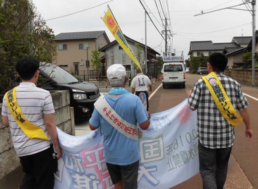 6月19日、津幡駅―森本駅①